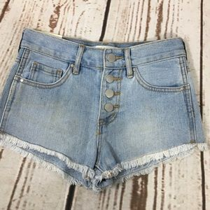 NEW Bullhead Denim Shorts sz. 22""